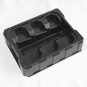 Vacuumformed trays
